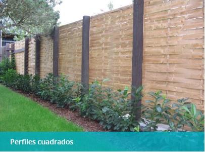 PERFILES CUADRADOS