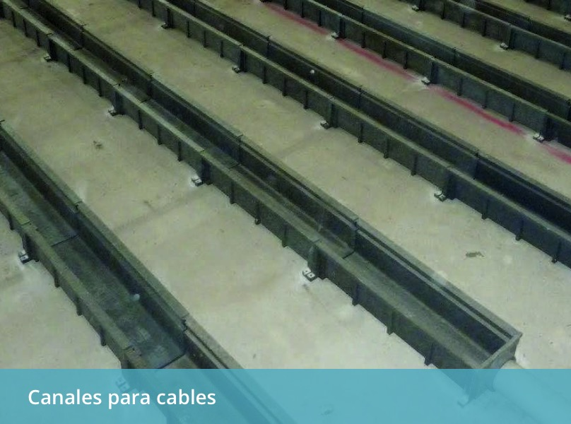 CANALES PARA CABLES