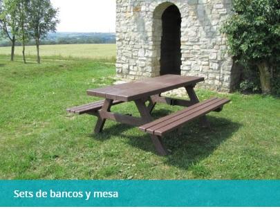 SET BANCOS Y MESAS