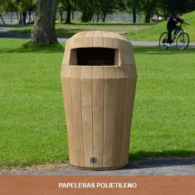 PAPELERAS POLIETILENO