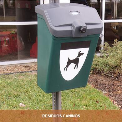 RESIDUOS CANINOS