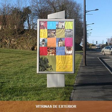 VITRINAS DE EXTERIOR