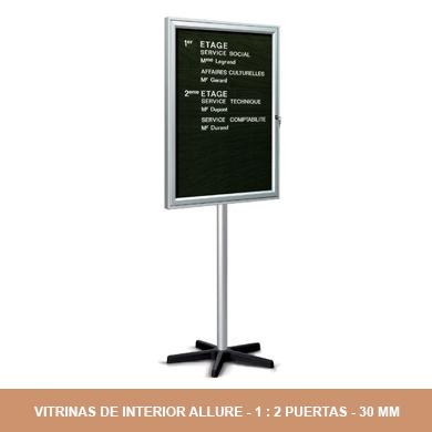 VITRINAS DE INTERIOR ALLURE
