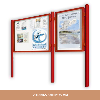 VITRINAS 2000 75MM