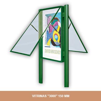 VITRINAS 3000 150MM
