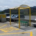 Subministrament de Marquesina d'autobús per l'Ajuntament d'Albalat dels Tarongers