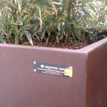 Mobiliario Urbano Personalizado EN ACERO CORTEN  Proyecto :Kurtzeko Plaza 48960 Galdakao (Bizkaia)