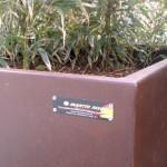 Mobiliari Urbà Personalitzat EN ACER CORTEN Projecte: Kurtzeko Plaça 48960 Galdakao (Bizkaia)