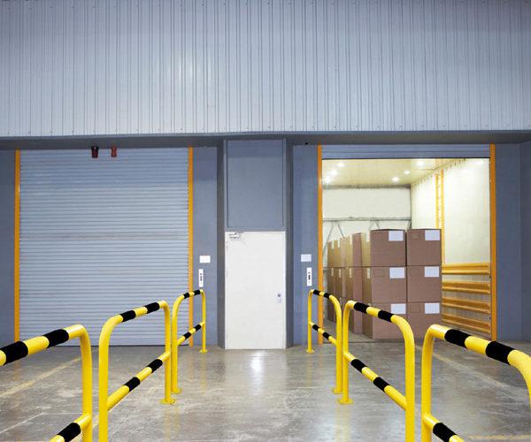 Barandillas reforzadas 60 mm seguridad para industrias