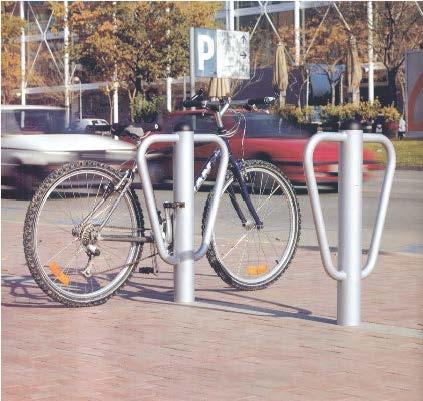 Aparcabicicletas para dos bicicletas