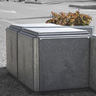 Asiento CUBE - material reciclado