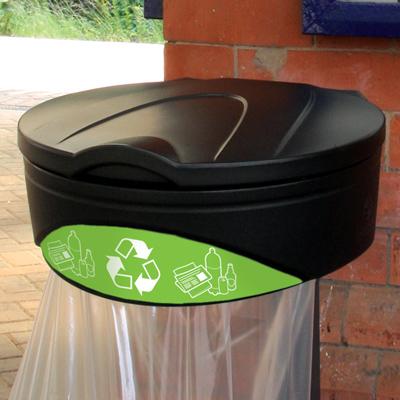 Orbis de reciclaje - con tapa