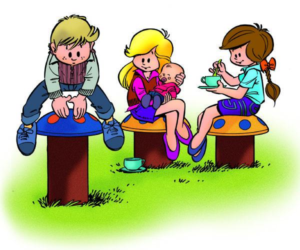 Juegos infantiles en caucho reciclado