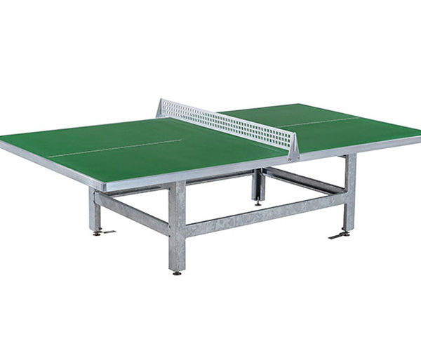 Mesa de Ping-Pong exteriores antivandálica Ferro A45-S verde