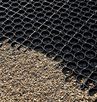 Protector de suelos de plástico reciclado 100% Hanpave