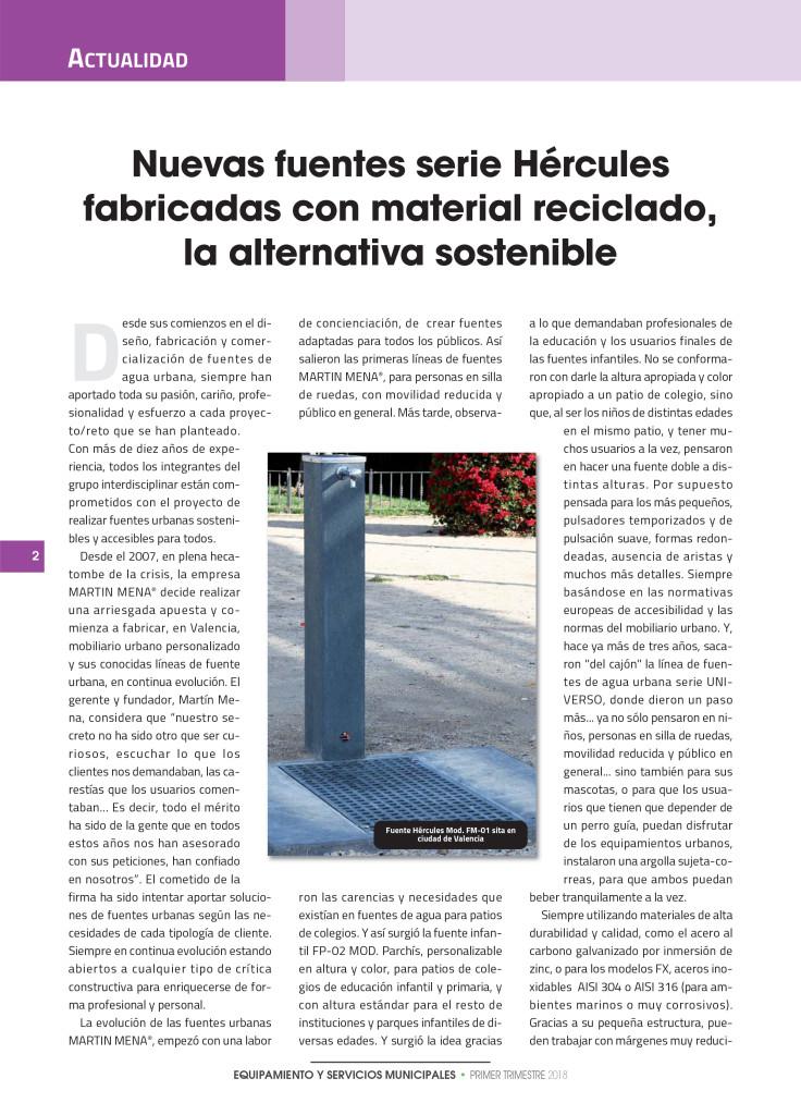 NdP Martin Mena:articulo municipales
