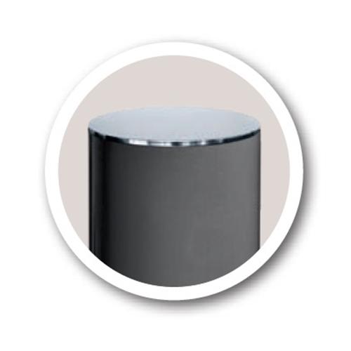 Versión del bolado anti alunizaje con tapa inox (ref. 206537)