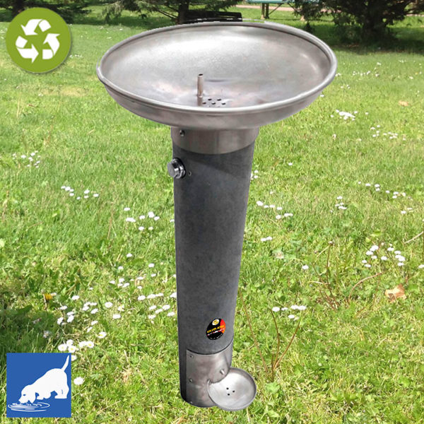 Fuente-bebedero FMM-02 para personas y perros.Plástico reciclado 100%