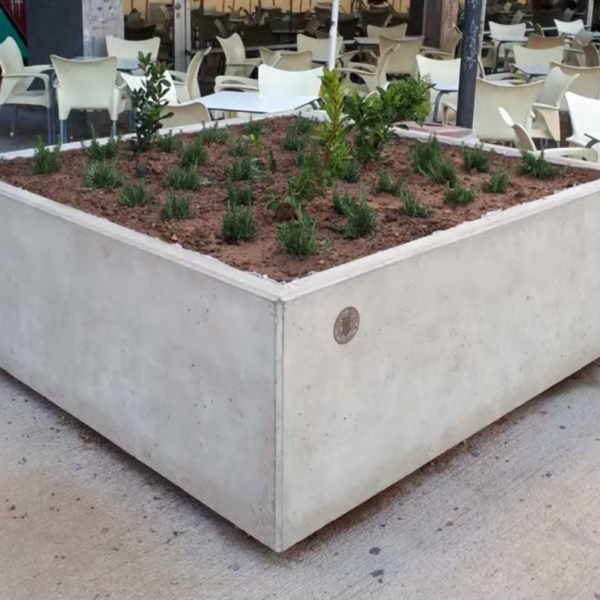 Jardineras de hormigón  MADRID