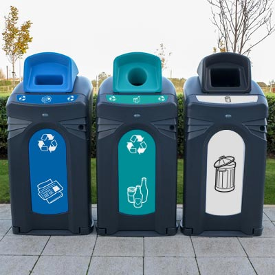 Nexus® City 140 - para periódicos, cristal y basura genérica