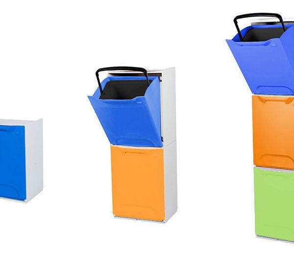 CONTENEDOR APILABLE ADVANCED - Torre de reciclaje