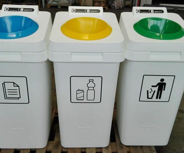Punto reciclaje Re-Square