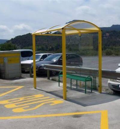 Suministro de Marquesina de autobús para el Ajuntament d´Albalat dels Tarongers
